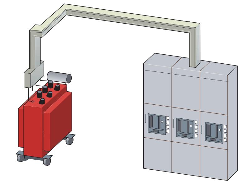 Đầu nối máy biến áp hệ thống Busway Siemens