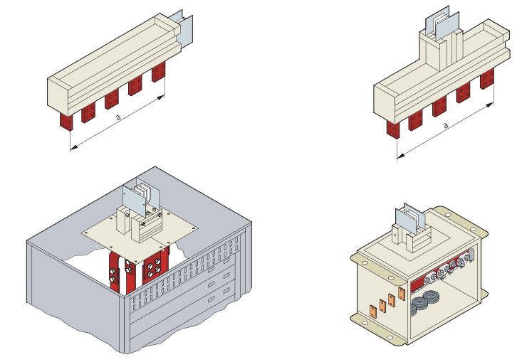 Đầu nối tủ điện hệ thống Busway Siemens