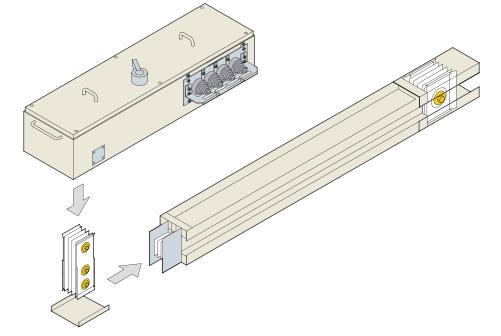 Tab off box hệ thống Busway Siemens